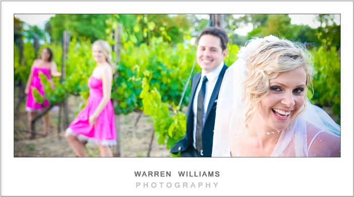 bride groom bridesmaids