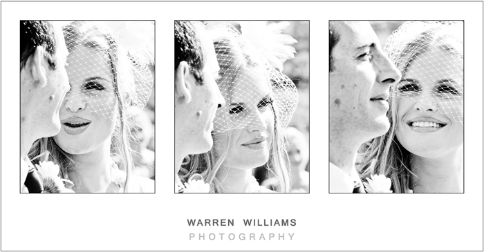 Bride and groom during ceremony, photos