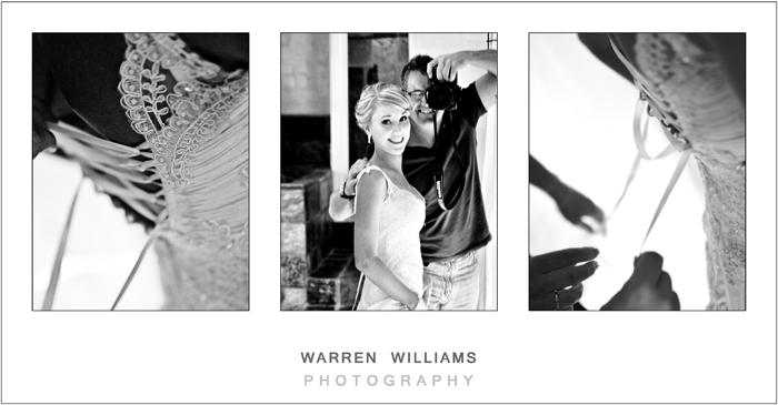 Bride and Warren Williams
