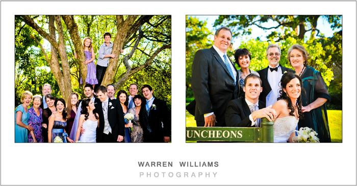 Grooms family photos
