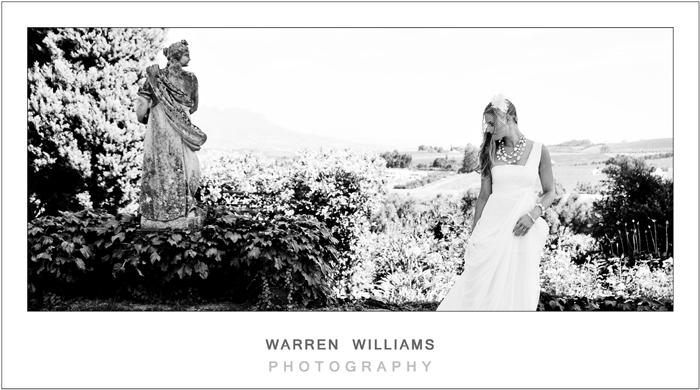 Bride and statue 2