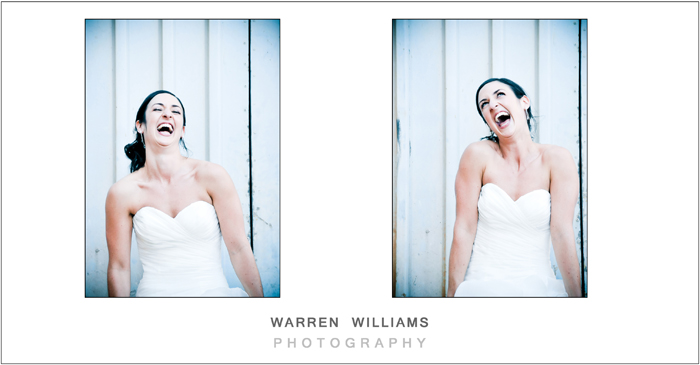 Quirky bride - Warren Williams Photography
