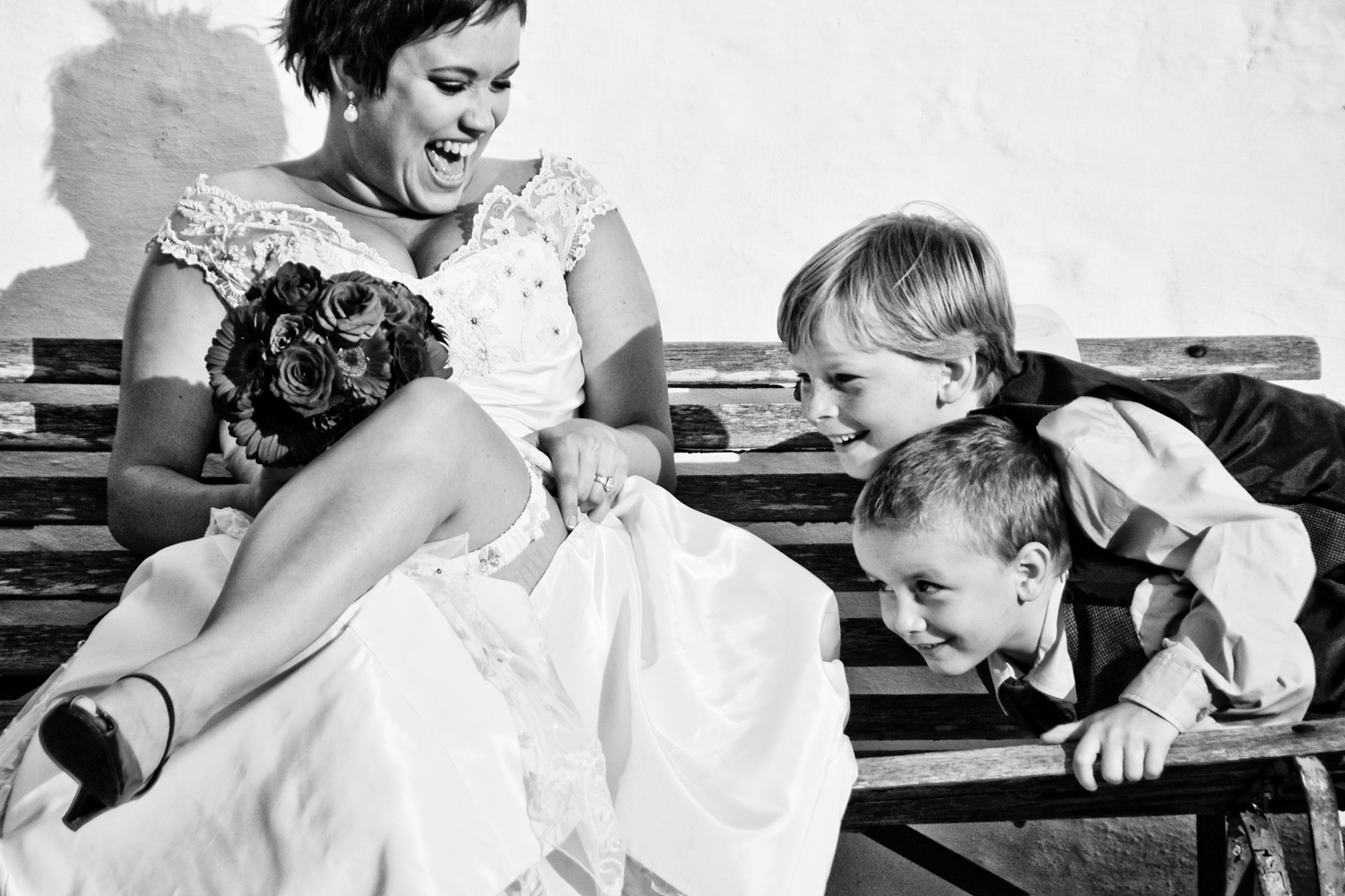 Kevin and Roxanne, The Farmhouse, Langebaan