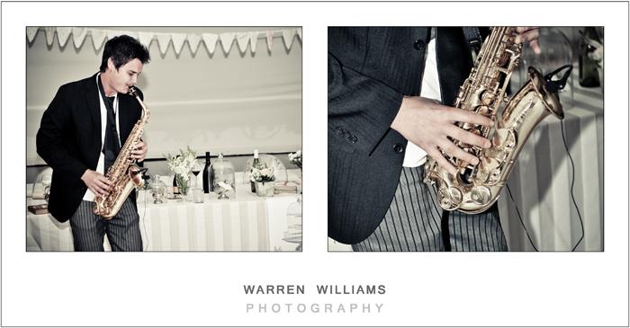 Wedding entertainment, saxophone