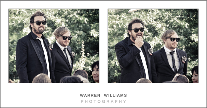 Celebrity bestmen at weddings