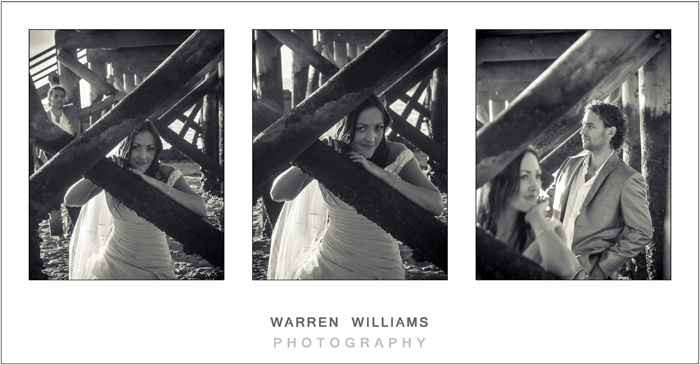 Mark and Roxanne Trash the Dress session