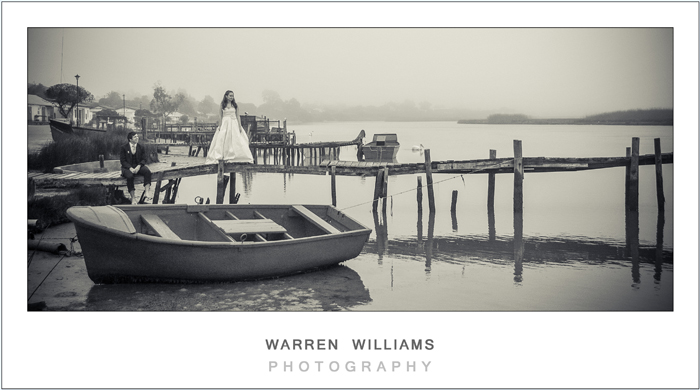 Fishing boat wedding series