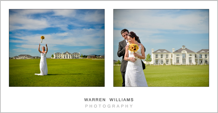 Bridal couple Warren Williams Photography