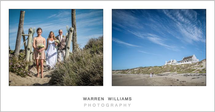 Beach weddings, South Africa