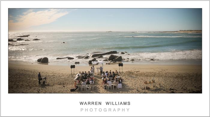 Beach wedding, Jacobsbaai