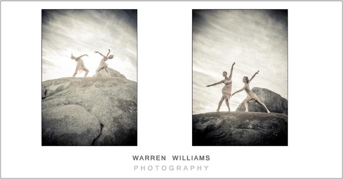 Ballet wedding girls