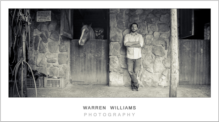Faz and stef engagement shoot at Hout Bay stables