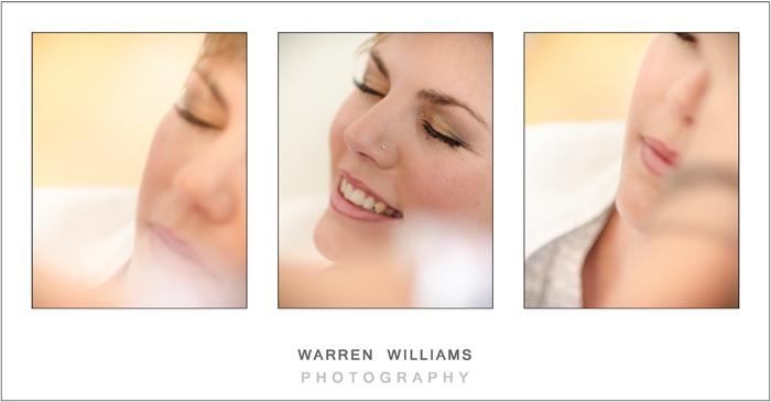 Bridal make-up, Alle Bleue