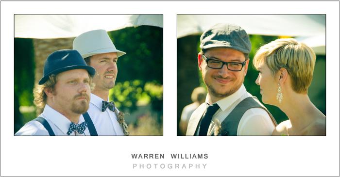 Wedding ceremony, Allee Bleue