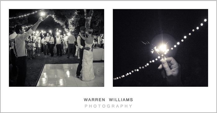 First dance, wedding sparklers