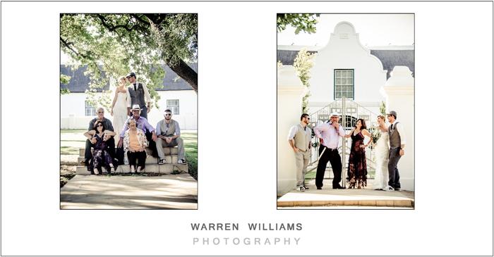 Family wedding photgraphs