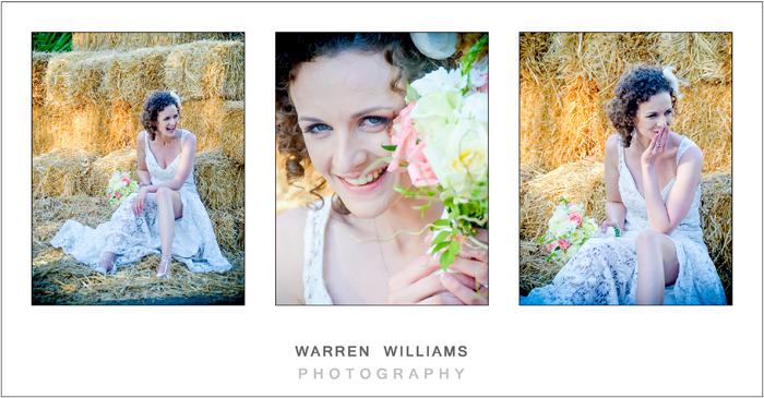 Bride, bouquet, Warren Williams Photography