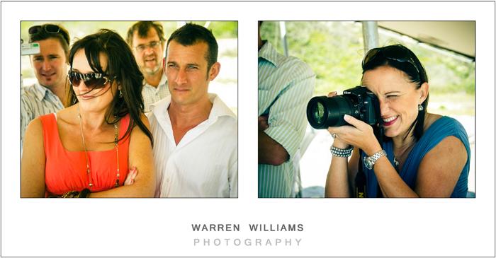 Wedding guests photos