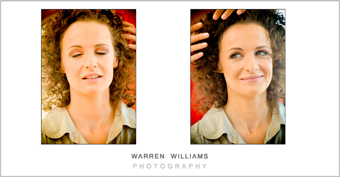 Alicia Buckle hair and make-up, Warren Williams Photography