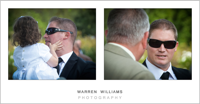 groom before ceremony
