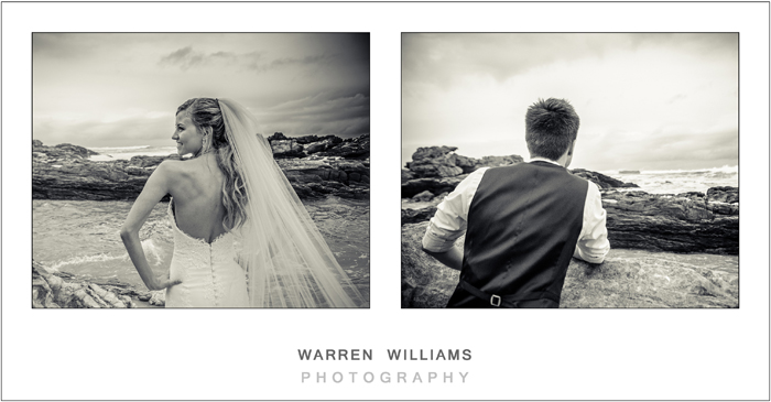 Kyle and Elani, Oubos, beach wedding, Warren Williams Photography