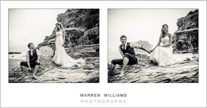 Wedding beach photography, Oubos, beach wedding, Warren Williams Photography