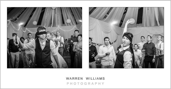 Garter and bouquet, Oubos, beach wedding, Warren Williams Photography