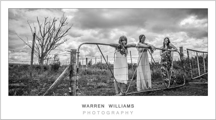 Farm wedding, country bride