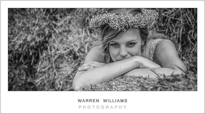 Country bride, Warren Williams Photography