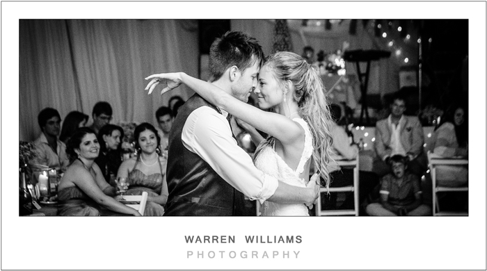 First Dance, Warren Williams Photography