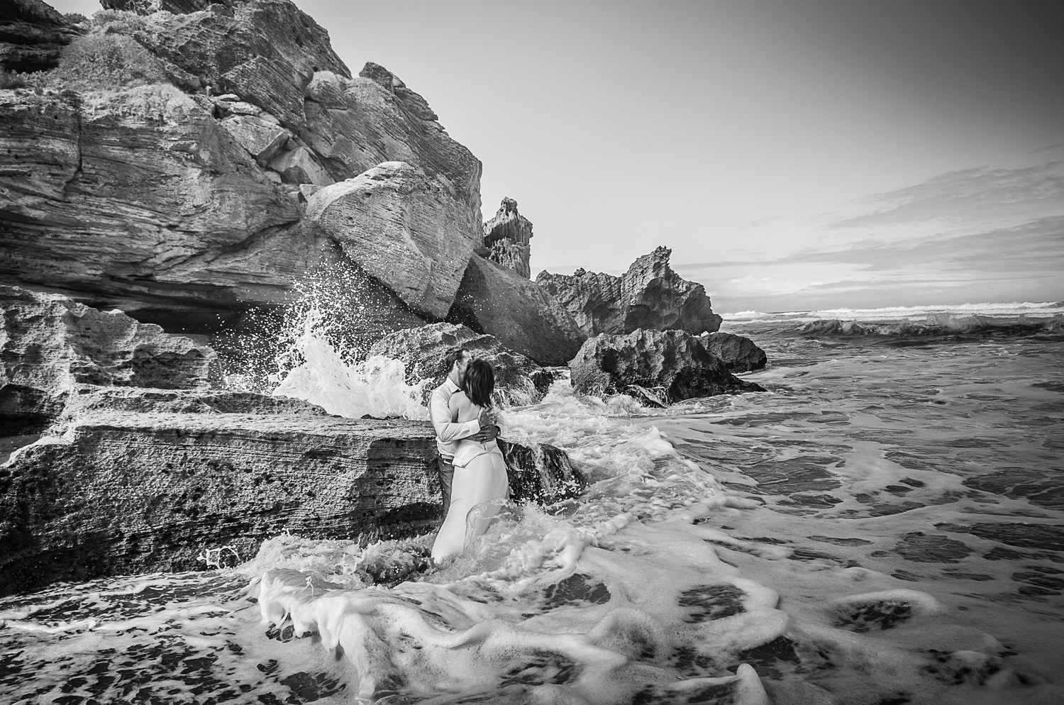 Anzelle and Rob: Trash the Dress, Brenton-on-Sea