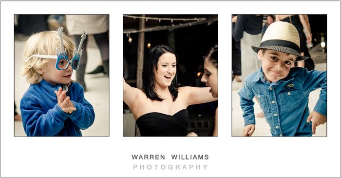 Fun and dancing at wedding reception