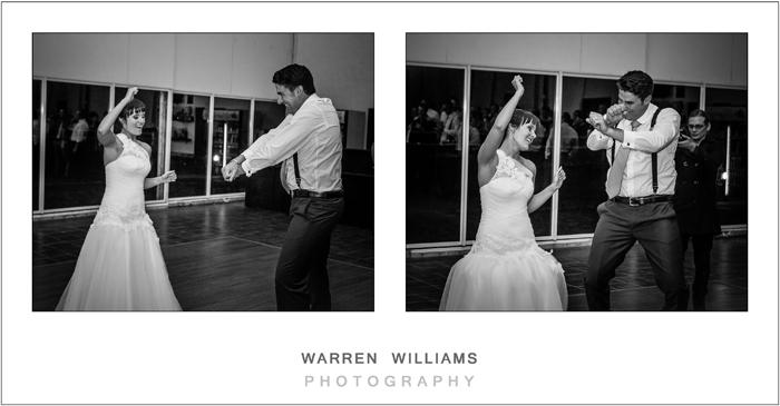 Unusual first wedding dance