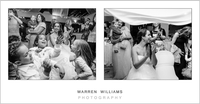 Wedding celebrations, Warren Williams Photography