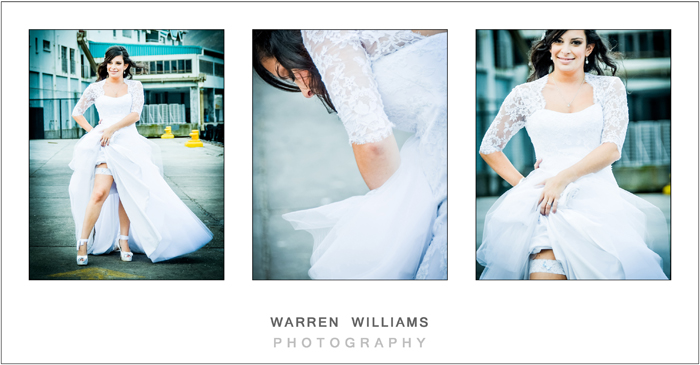 Warren Williams Photography sexy bridal portraits