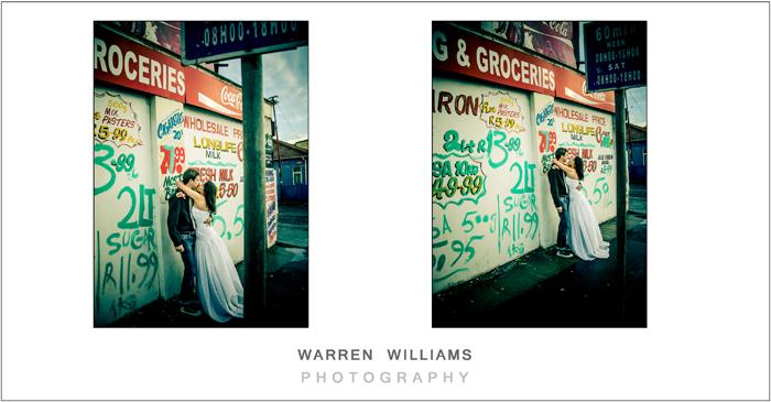 graffiti bride, tattoo bride
