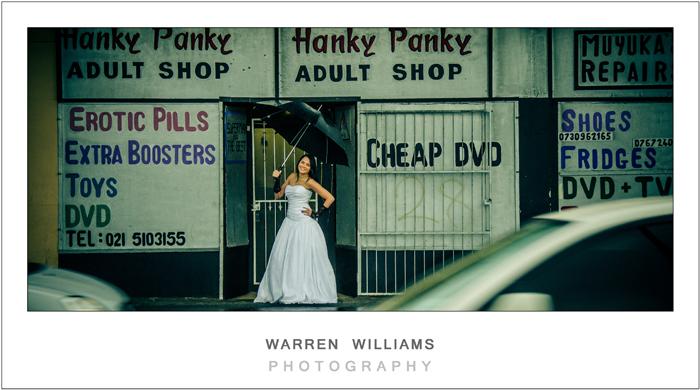 trash the dress,rain wedding,capetown weddings