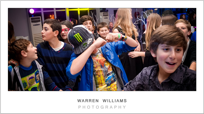 Warren Williams Photography photographs Bat Mitzvah of rich and famous