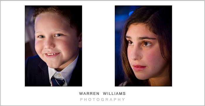 Warren Williams Photography photographs top Bat Mitzvah celebration