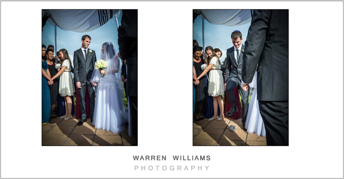 Warren Williams Photography Jewish wedding photographer