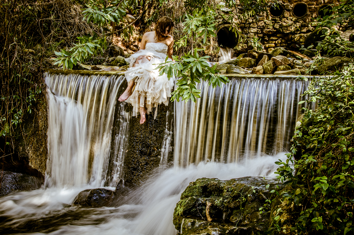 Juanita and Johan, Trash the Dress, Newlands Forest
