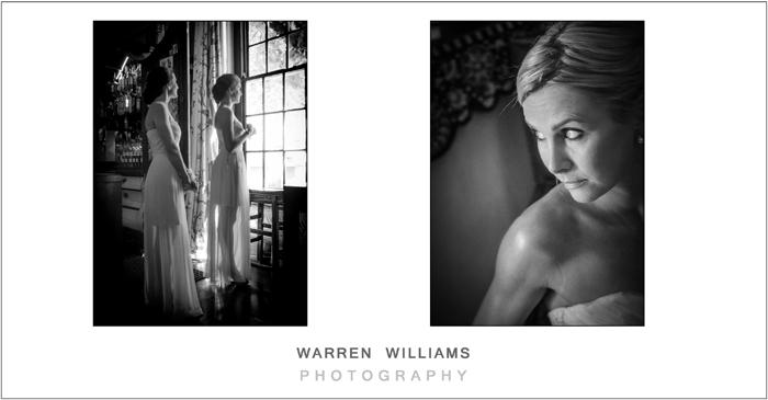 Moody wedding photographs