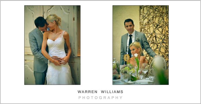 Elegant wedding interior