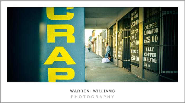 Warren Williams photojournalistic wedding photographer