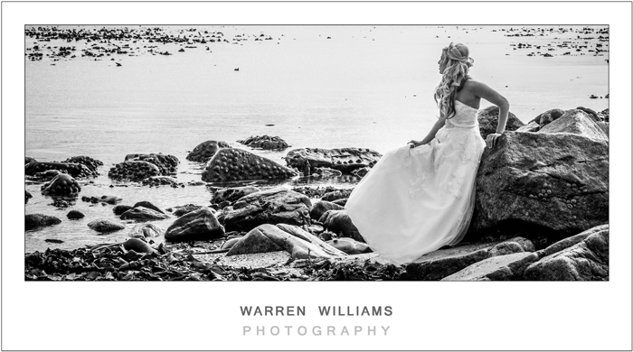 Carly and Trevor, Trash the Dress, St Helena Bay
