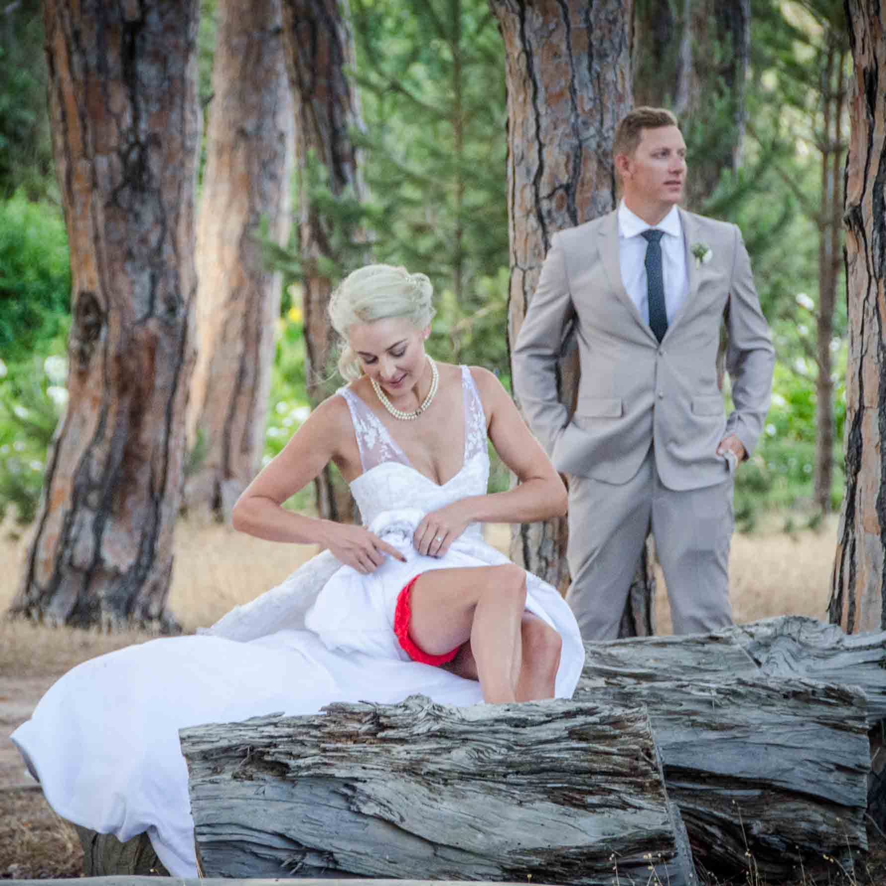 Etienne and Taryn, Winery Road Forest