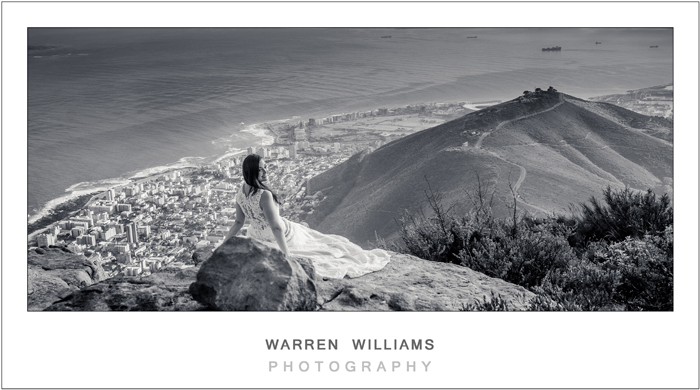 Darryl and Joni, Trash the Dress, Lion's Head