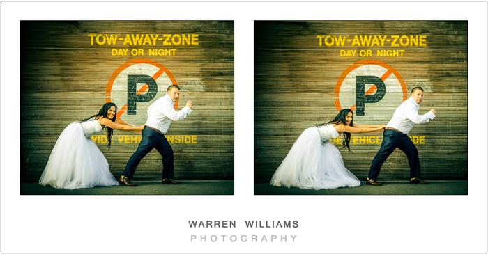 Warren Williams Trash the Dress