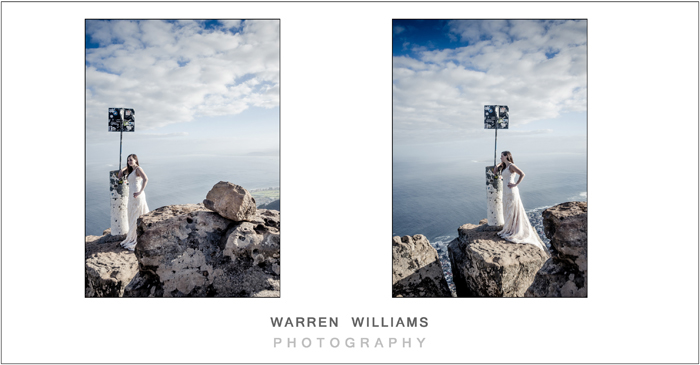 World wedding exclusive on Lion's Head