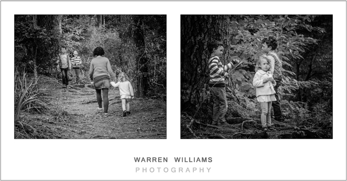 The Williams Family, Newlands Forest-14